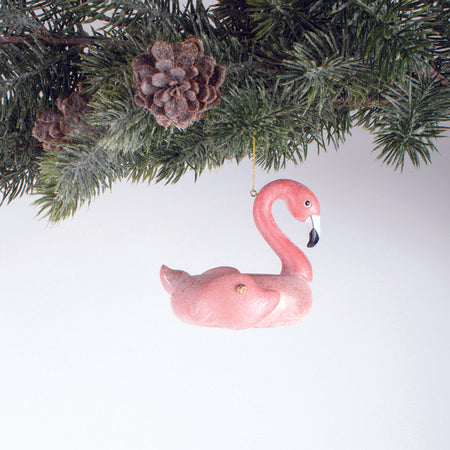 ORNAMENT POOL FLOAT FLAMINGO