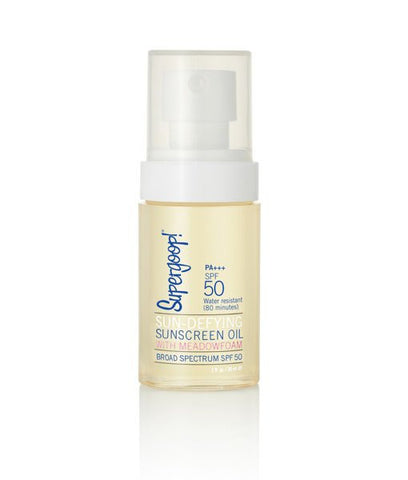 Sun-Defying Sunscreen Oil with Meadowfoam SPF 50 (1 fl oz)