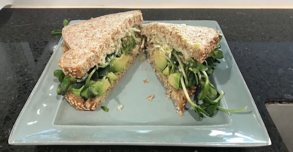 Quick and Easy Vegan Sandwich