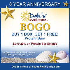 BOGO Sale - Dale's Raw Foods