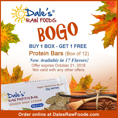 BOGO Sale - Protein Bars