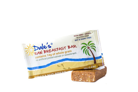 Banana Nut Bread Breakfast Bar (1 Bar)
