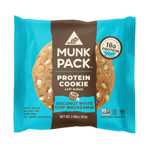 Coconut White Chip Macadamia Protein Cookie (6-Pack)