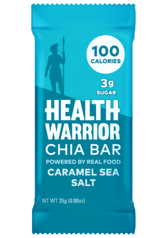 Caramel Sea Salt Chia Bars (Box of 15)
