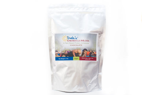 Dales Raw Muscle Builder - Chocolate - 2 lb Bag