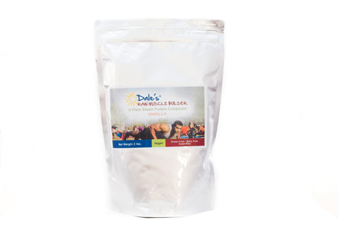 Dales Raw Muscle Builder - Vanilla - 2 lb Bag