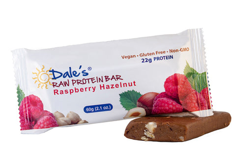 Raspberry Hazelnut Protein Bar (1 Bar)