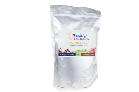 Dales Raw Protein - Strawberry Banana - 2 lb Bag
