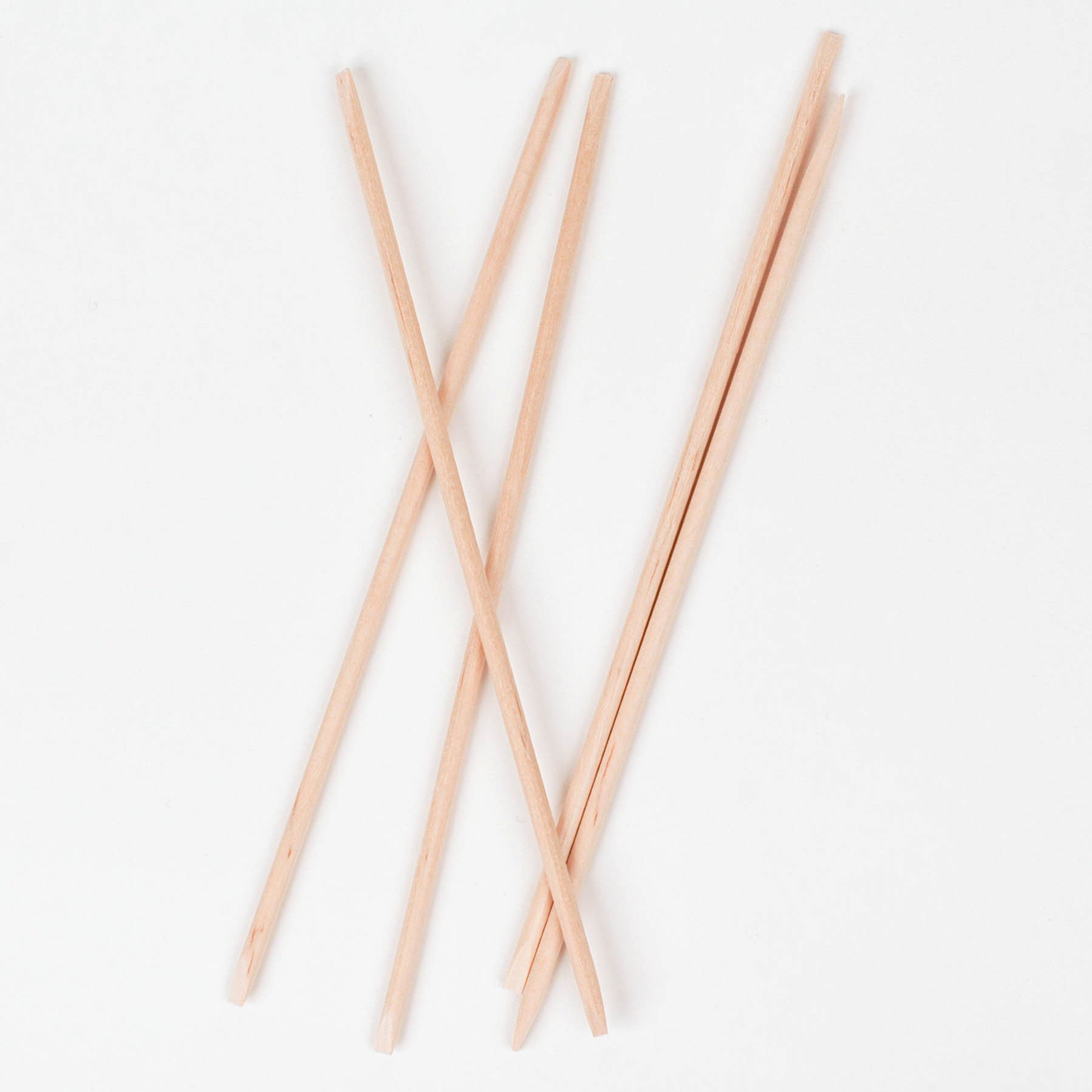ORANGE WOOD STICKS Cuticle & Nail Tool