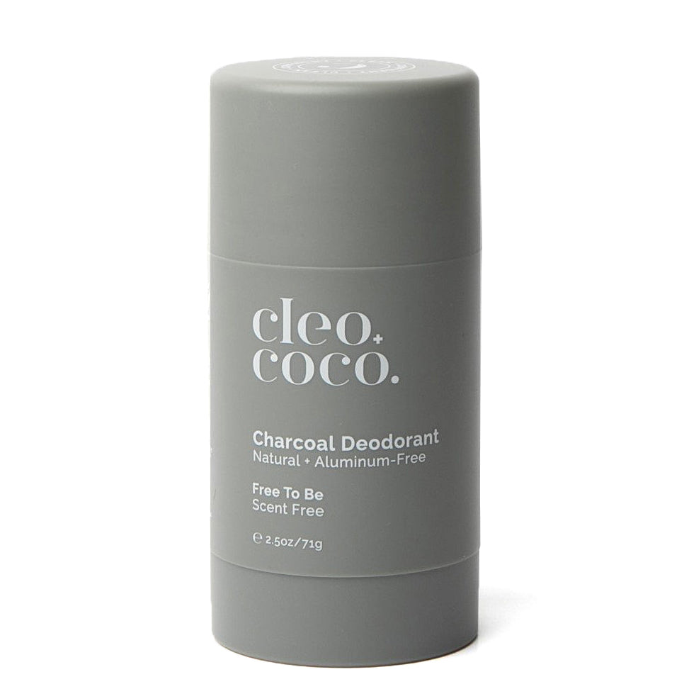 Charcoal Dedorant - Free to Be - Scent Free
