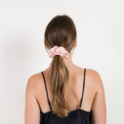 Bamboo Lyocell Hair Scrunchie Set