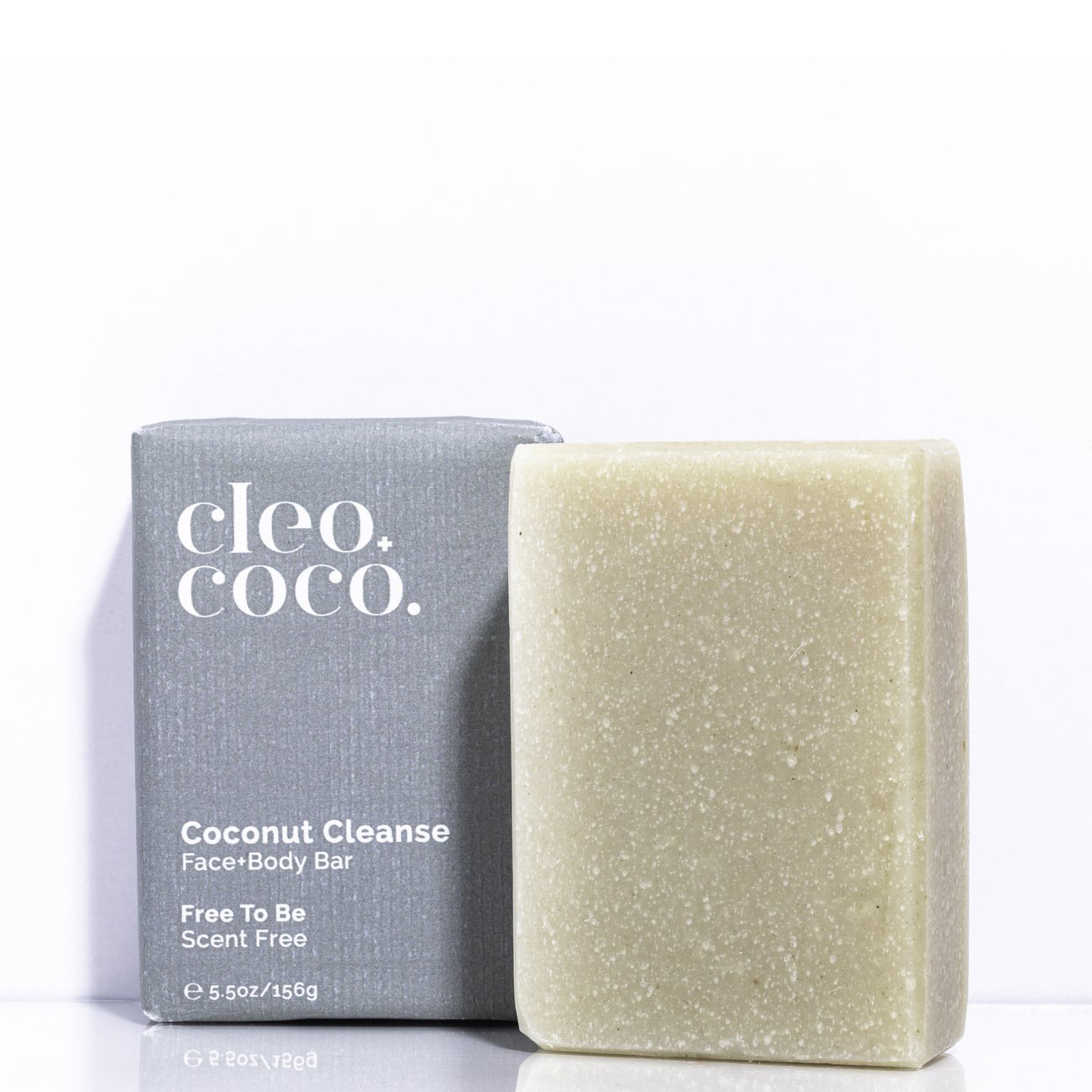 Coconut Cleanse Face + Body Bar