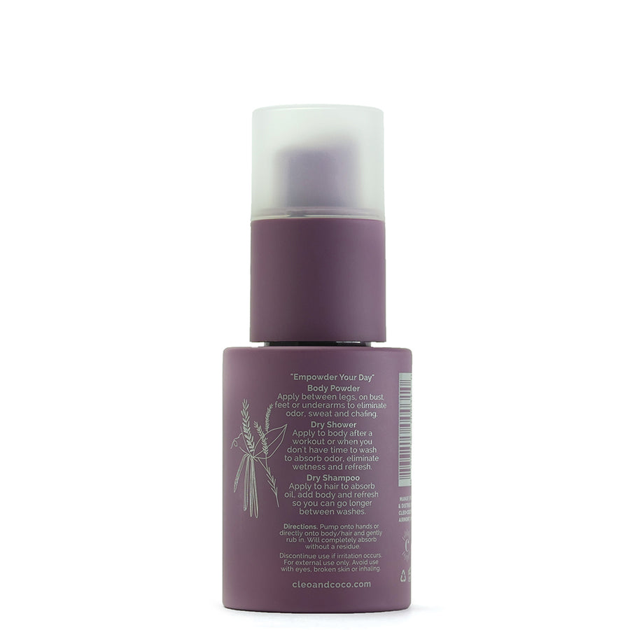 Dry Shampoo + Body Powder - Sweet Surrender, Lavender Vanilla