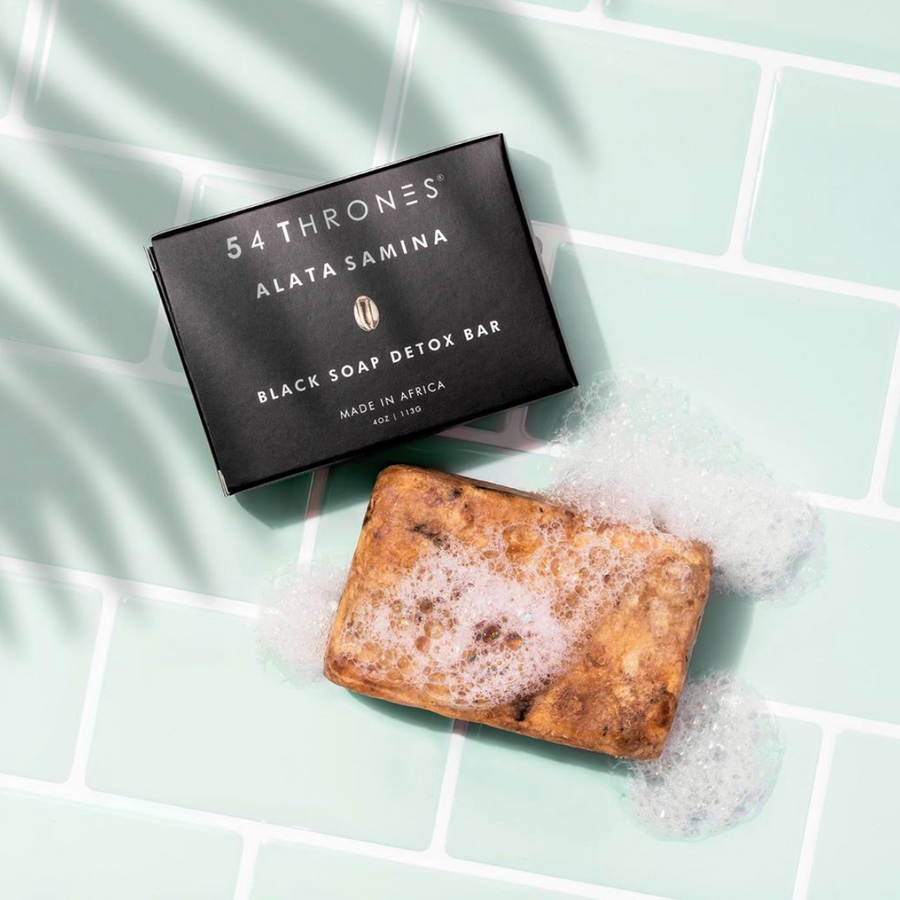 Alata Samina Black Soap Detox Bar
