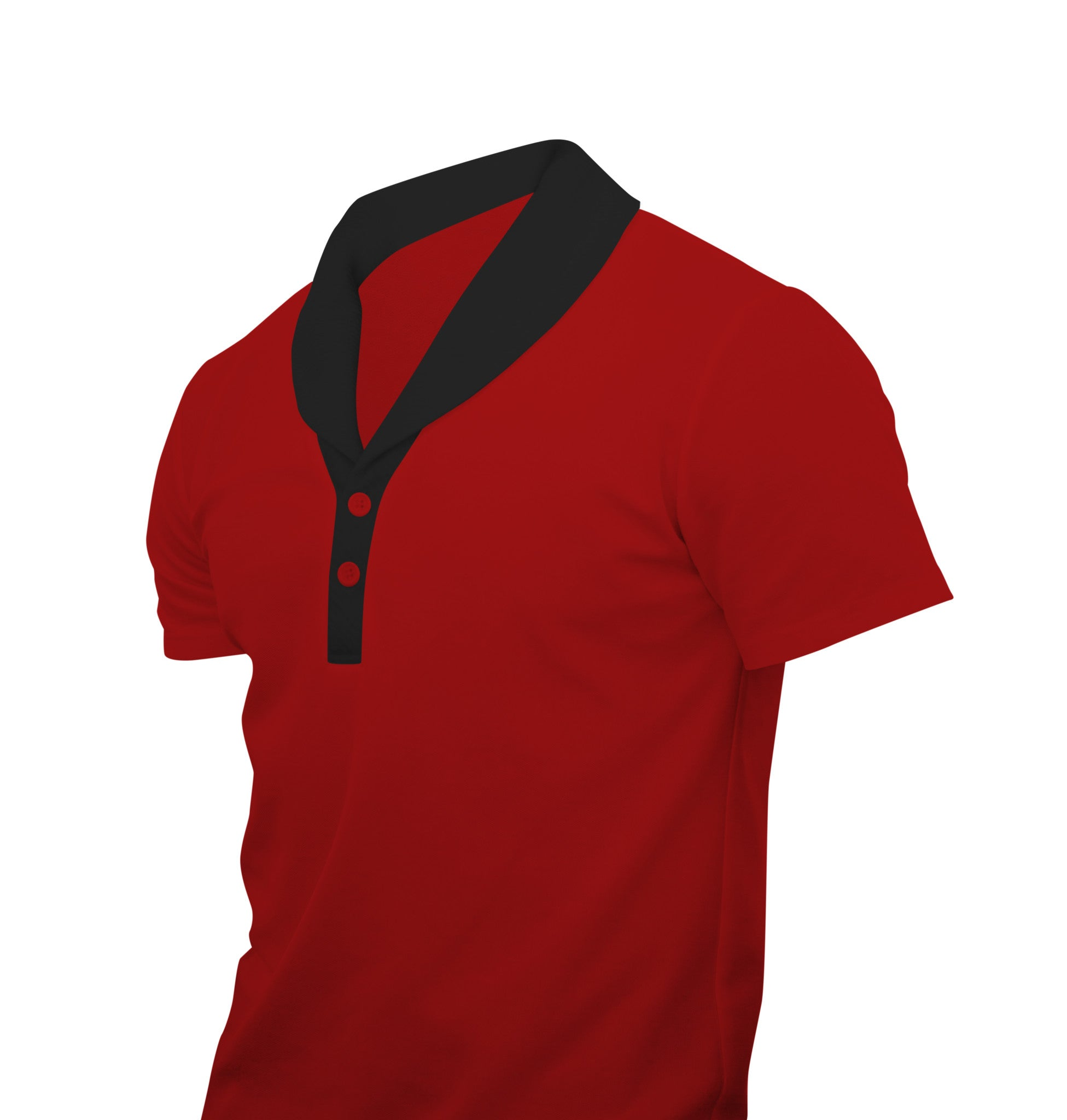 Men's Cardigan-Polo Shirt
