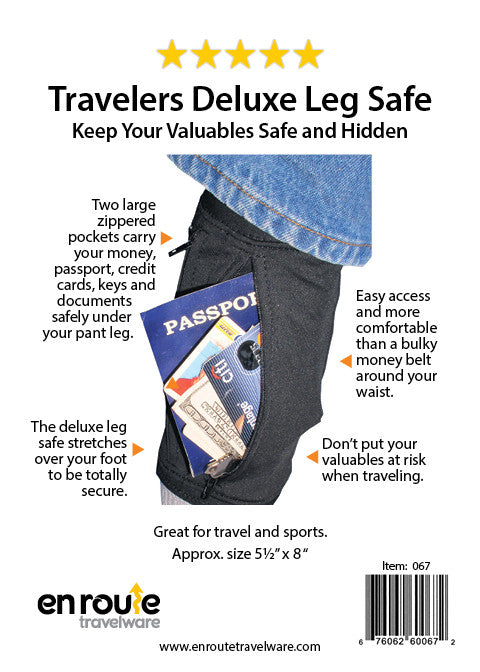 Deluxe Leg Safe (#167) #1 Best Seller - En Route Travelware
