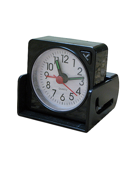 Alarm Clock with built in case.