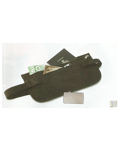 Money Belt.  RFID Blocking.