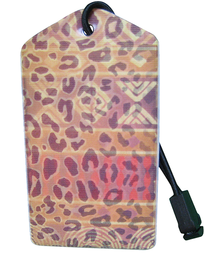z Luggage Tag Africa - En Route Travelware