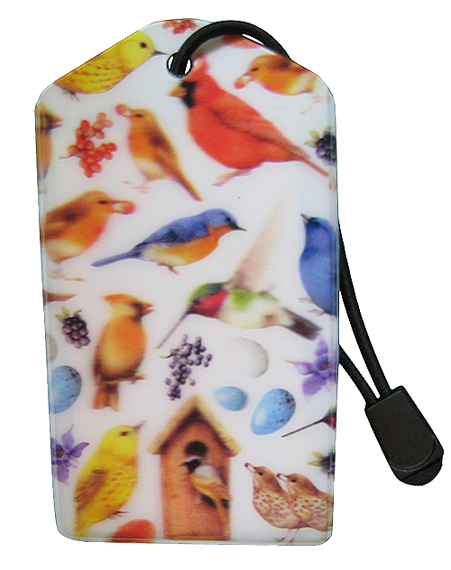 z Luggage Tag: Birds - En Route Travelware