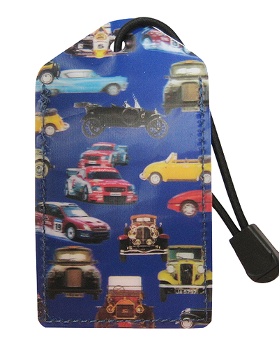 z Luggage Tag: Cars - En Route Travelware