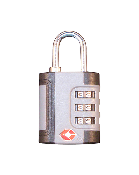 EZ Travel Lock (#139) Combination EZ to set. Large numbers EZ to read.