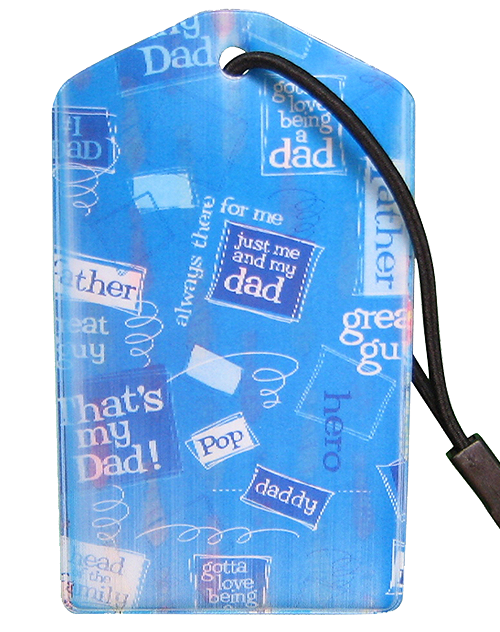 Luggage Tag:Dad
