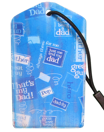 z Luggage Tag: Dad - En Route Travelware