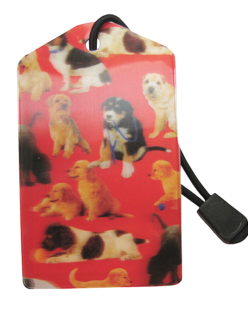 z Luggage Tag: Dogs - En Route Travelware
