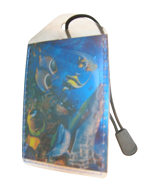 Luggage Tag:Dolphin-Fish