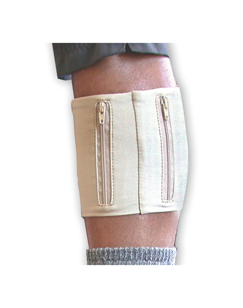 Leg Wallet Tan (#065) Keep valuables hidden under your pant leg