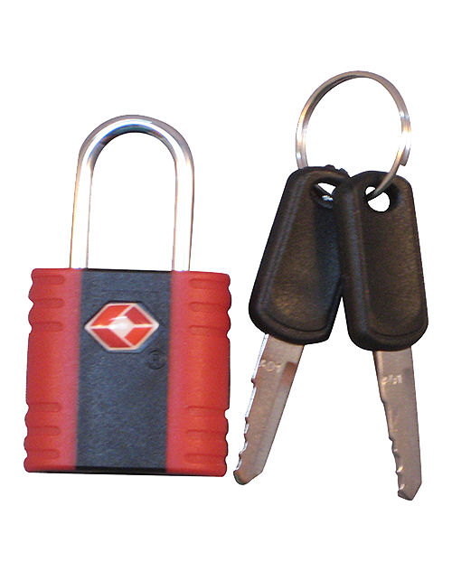 Luggage Lock.  TSA approved with keys.