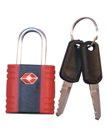 EZ Luggage Lock (#140) Two keys.  TSA approved.
