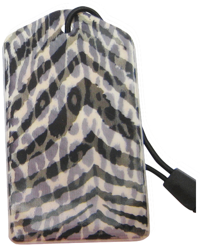 z Luggage Tag: Leopard Zebra - En Route Travelware
