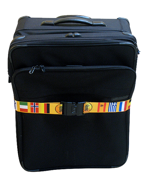 International Flag Luggage Belt (#143)
