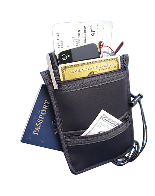 Travel Neck Wallet  (#069) - En Route Travelware