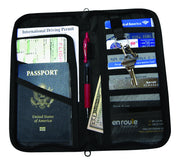 Passport and Document Holder (#170) Protects against electronic theft. - En Route Travelware