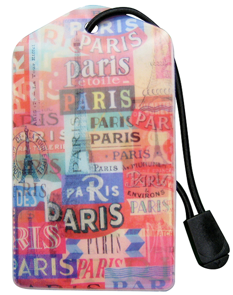 Luggage Tag:Paris