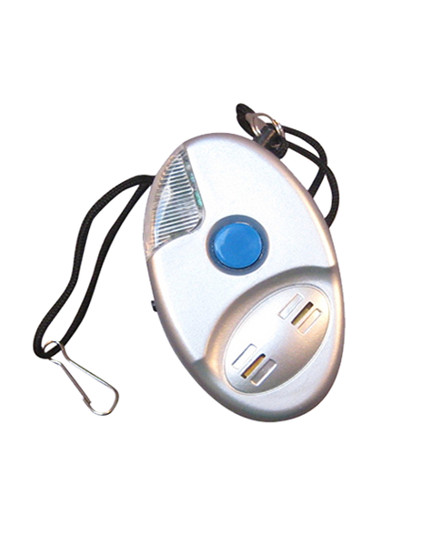 Alarm for personal safety with Small Flashlight
