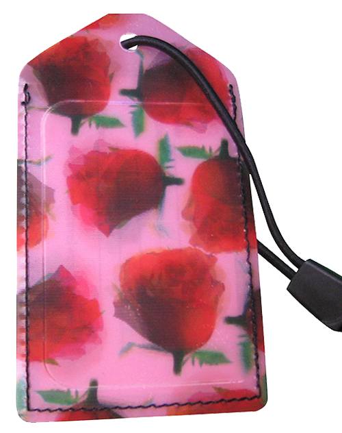 z Luggage Tag: Roses - En Route Travelware