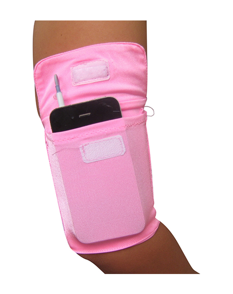 Arm Pocket Pink.  Carry your phone Hands-Free!