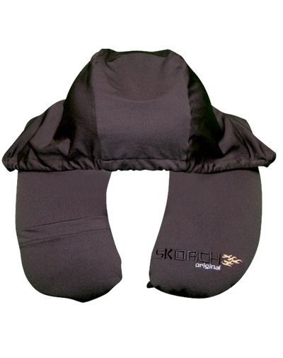 2-in-1 Travel Pillow with Hoodie (#103) - En Route Travelware