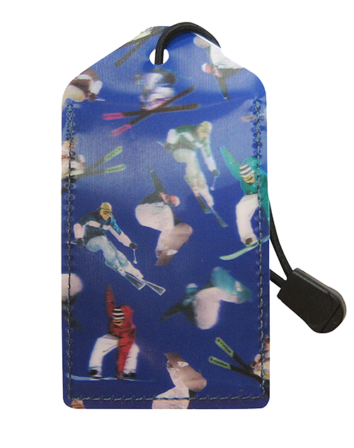 z Luggage Tag: Ski-Board - En Route Travelware