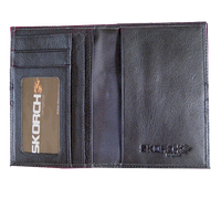 RFID Passport Organizer (#106) All leather with stud detailing