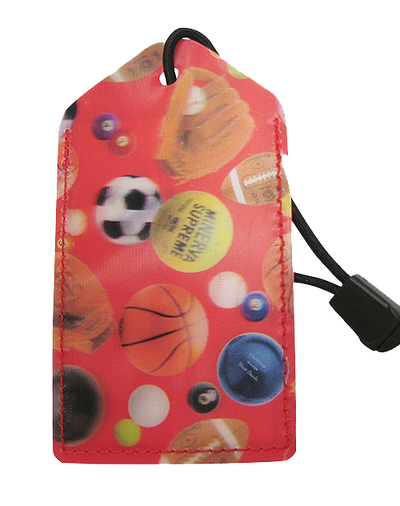 Luggage Tag:Sports-Balls