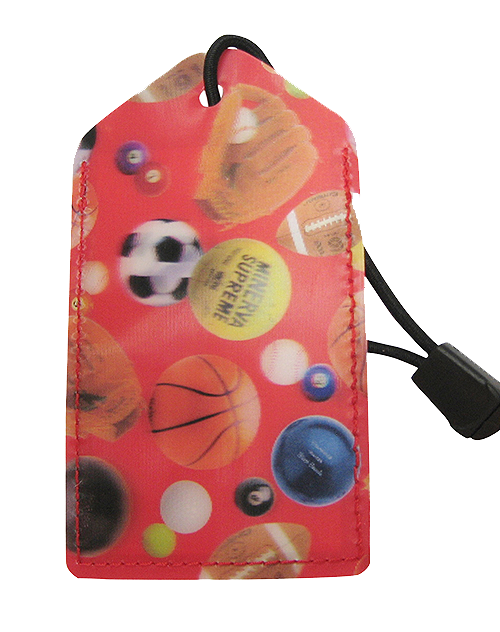 z Luggage Tag: Sports-Balls - En Route Travelware