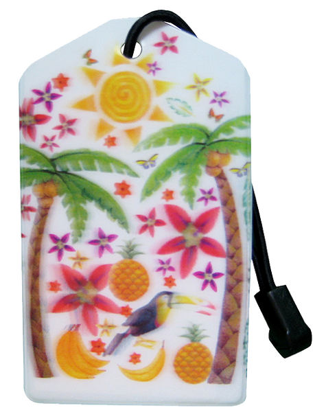 Luggage Tag:Tropics