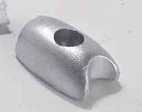 SM71180 Side-Power Bow Thruster Zinc Anode Military Grade Zinc Anode