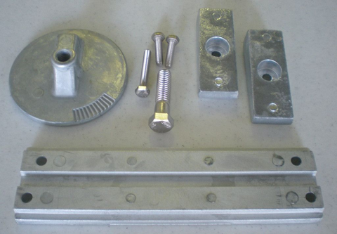 Mercury Verado 4 Cyl Zinc Anode Kit