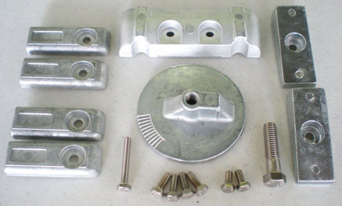 Mercury Verado 6 Cyl Zinc Anode Kit